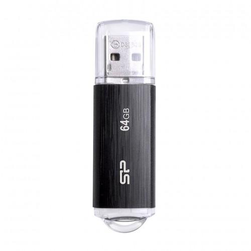 Silicon Power USB Flash Drive , 64GB, USB 3.2, Μαύρο
