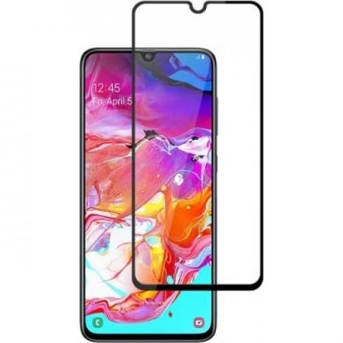 Full Face Tempered glass / Αντιχαρακτικό Γυαλί Oba Πλήρους Οθόνης 3D Για Samsung Galaxy A02s Μαύρο
