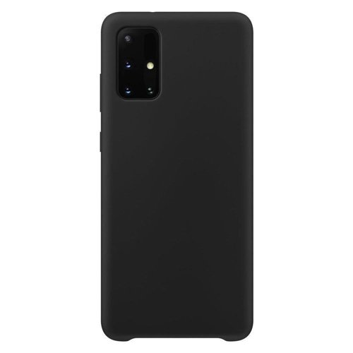 Silicone Case Soft Flexible Rubber Cover for Samsung Galaxy A32 5G black