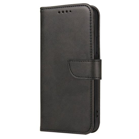 MAGNET CASE ELEGANT BOOKCASE TYPE CASE WITH KICKSTAND FOR SAMSUNG GALAXY A52 5G / A52 4G / A32 4G BLACK