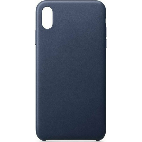 ECO Leather case cover for iPhone XR blue
