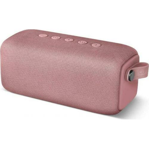 Fresh 'n Rebel Rockbox Bold M Waterproof Bluetooth Speaker 16W with 15 hours of Dusty Pink Operation