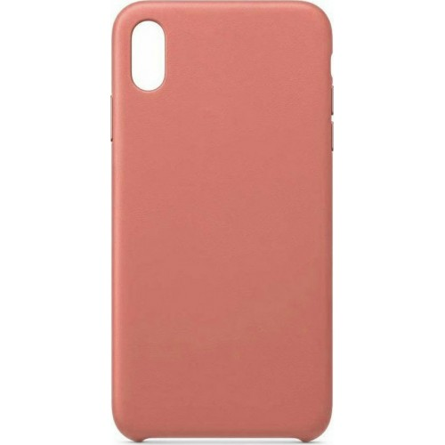 Hurtel Eco Leather Back Cover Δερματίνης Ροζ (iPhone XR)