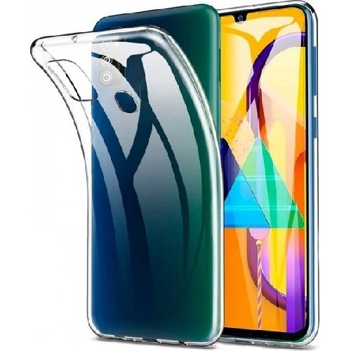 Back Cover Silicon Transparent (Galaxy M21)