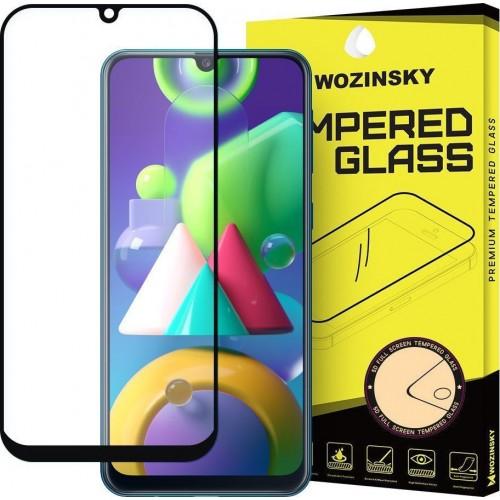 Wozinsky Full Face Tempered Glass Black (Galaxy M21)