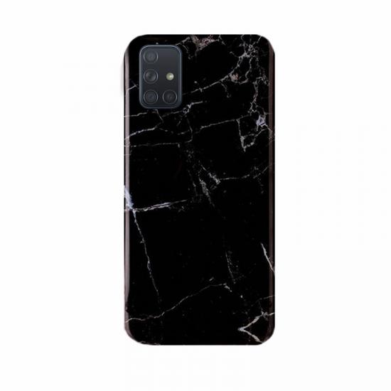 Wozinsky Marble Back Cover Σιλικόνης Μαύρο (Galaxy M51)