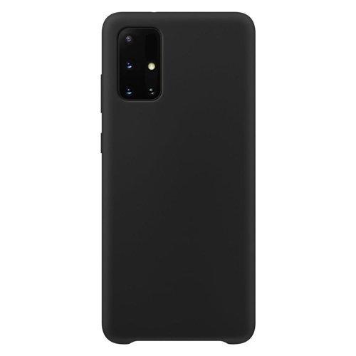 Silicone Case Soft Flexible Rubber Cover for Samsung Galaxy M51 black