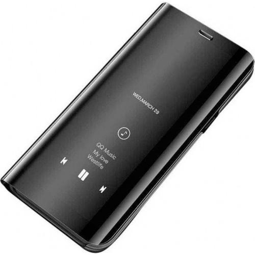 OEM Xiaomi Redmi Note 10 / Note 10s Clear View BOOK CASE - Black