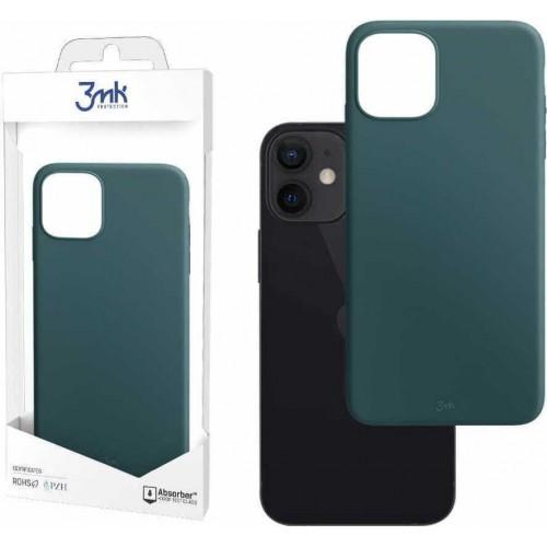 3MK Matt Back Cover Silicone Lovage (iPhone 12 mini)