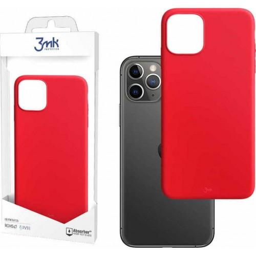 3MK Matt Back Cover Silicone Strawberry (iPhone 12 mini)