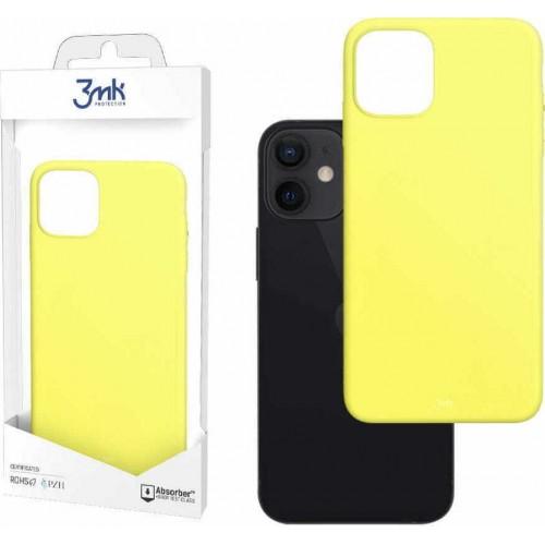 3MK Matt Case Back Cover Lime iPhone 12 mini