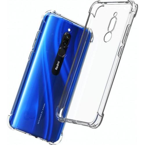 Back Cover Σιλικόνης 0.5mm Διάφανο για Xiaomi (Redmi 8)