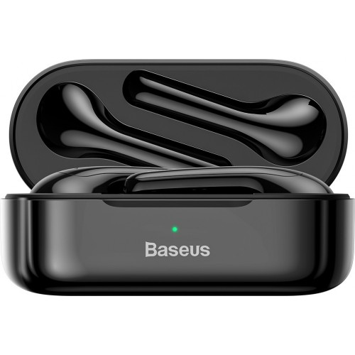 Baseus Encok W07 In-ear Bluetooth Handsfree Μαύρο