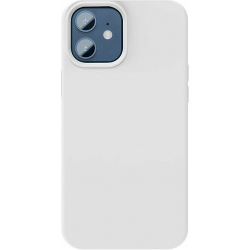 Baseus Liquid Silica Gel Back Cover Silicon White (iPhone 12 mini)