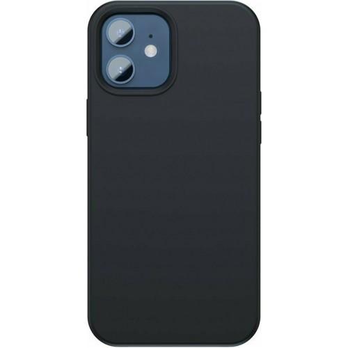 Baseus Liquid Silica Gel Back Cover Silicon Black (iPhone 12 mini)
