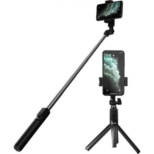 Baseus Selfie Stick and Tripod SUDYZP-F01 Μαύρο