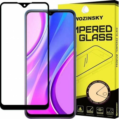 Case Friendly Full Face Tempered Glass Black (Redmi 9)