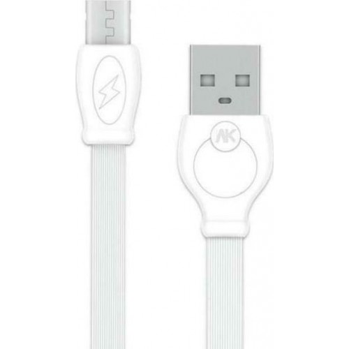 Charging Cable WK Micro White 3m Fast WDC-023
