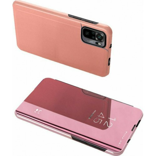 Clear View Book Plastic Pink (Redmi Note 10 / 10s)