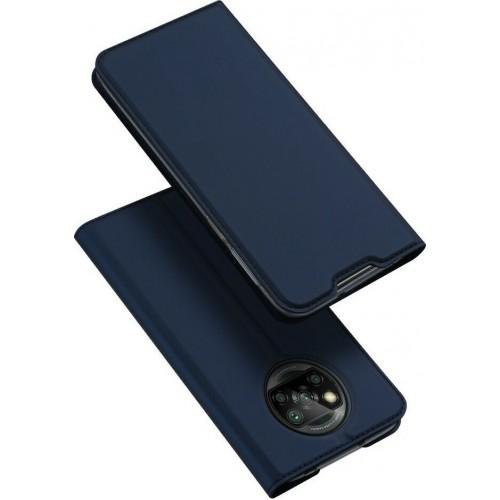 Dux Ducis Skin Pro Book Μπλε (Poco X3 NFC / X3 Pro)