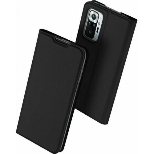 Dux Ducis Skin Pro Book Black Leather (Redmi Note 10 Pro)