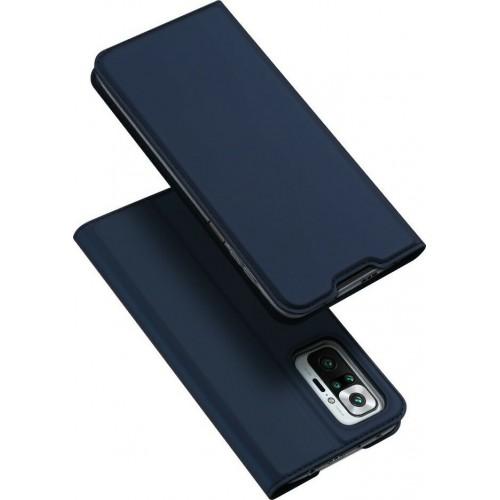 Dux Ducis Skin Pro Book Navy Leather Blue (Redmi Note 10 Pro)