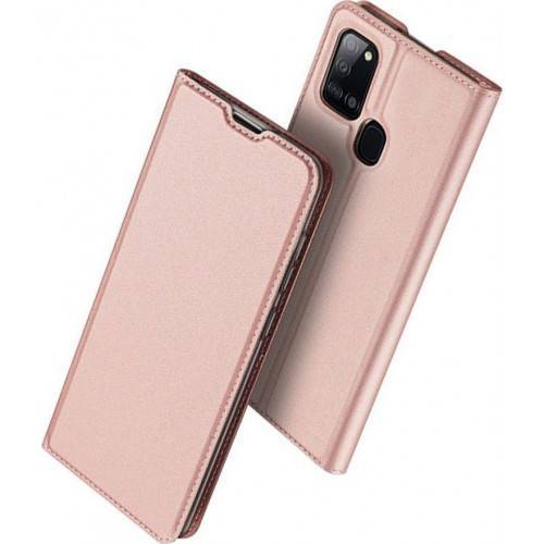 Dux Ducis Skin Pro Book Leather Pink Gold (Galaxy A21s)
