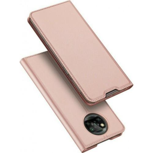 Dux Ducis Skin Pro Book Pink Gold (Poco X3 NFC / X3 Pro)