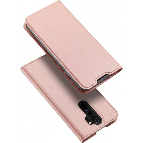 Dux Ducis Skin Pro Book Leather Pink Gold (Redmi Note 8 Pro)