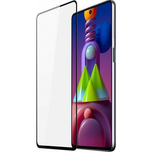 Dux Ducis Tough Screen Full Face 9D Tempered Glass Black (Galaxy M51)
