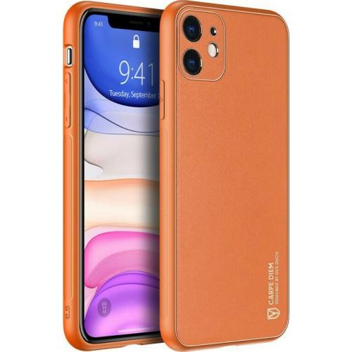 Dux Ducis Yolo Elegant Back Cover Orange (iPhone 11)