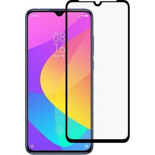 Full Glue Tempered Glass Black για Xiaomi (Mi 9 Lite)