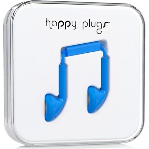 Happy Plugs Earbud Earbuds Handsfree με Βύσμα 3.5mm Μπλε