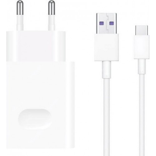 TRAVEL HUAWEI CP404B SUPER CHARGE 10V/22.5W 2.25A 9V/2A 5V/2A+TYPE C WHITE PACKING OR