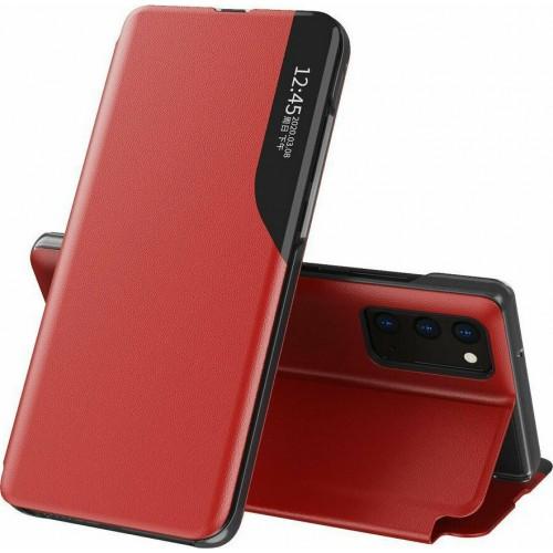 Hurtel Eco Leather View Book Δερματίνης Κόκκινο (Galaxy A52 4G / 5G)
