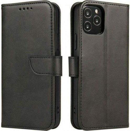 Magnet Elegant Wallet Δερματίνης Μαύρο (Galaxy A50 / A30S)