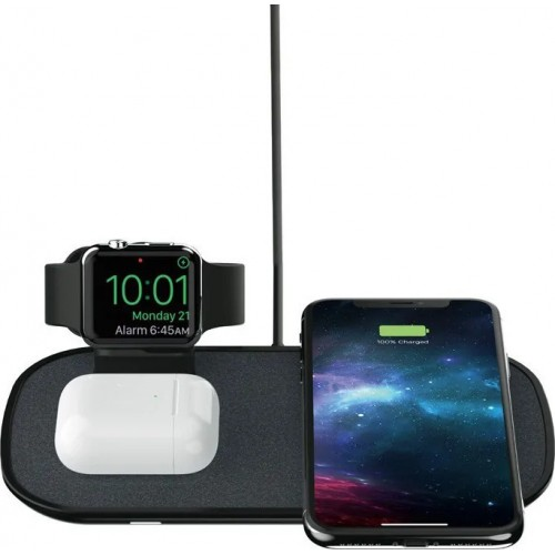 Mophie Wireless Charging Pad (Qi) Μαύρο (MPH014)