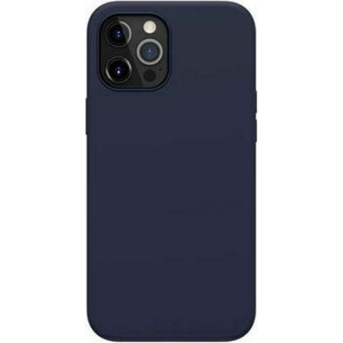 Nillkin Flex PURE Pro MagSafe Back silicone Cover  Blue (iPhone 12 Pro Max)
