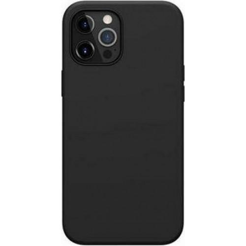 Nillkin Flex PURE Pro MagSafe Back silicone Cover Black (iPhone 12 Pro Max)