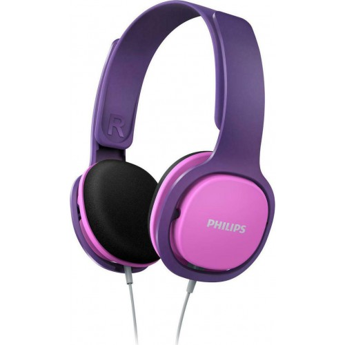 Philips SHK2000 Purple/Pink for kids