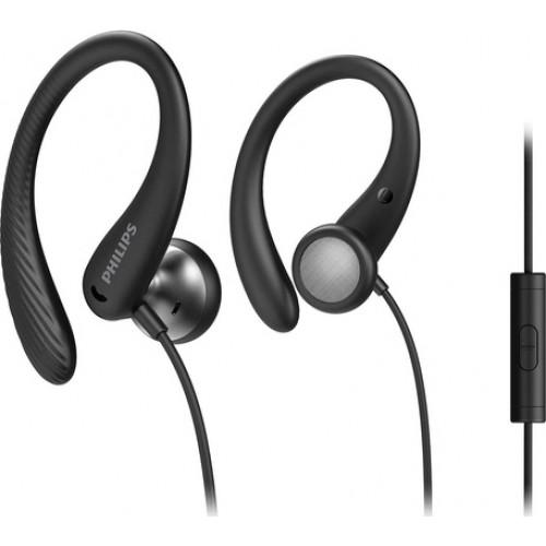 Philips TAA1105 Earbuds Handsfree με Βύσμα 3.5mm Μαύρο Original Κουτί