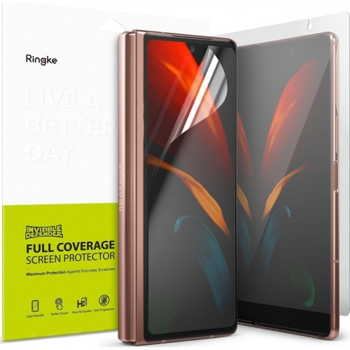 Ringke 2X Invisible Defender Full Coverage Screen Protector (Galaxy Z Fold 2)