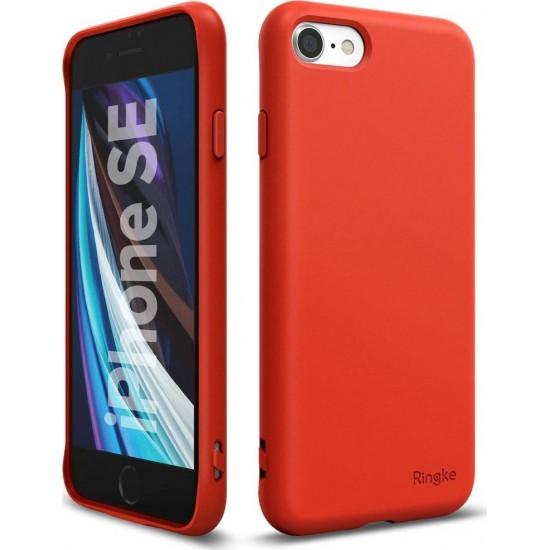 Ringke Air S Back Cover Σιλικόνης Κόκκινο (iPhone SE 2020/8/7)