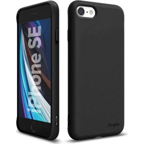Ringke Air S Back Cover Silicone Black  (iPhone SE 2020/8/7)