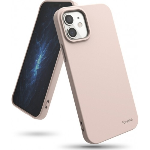 Ringke Air S Back Cover Σιλικόνης Pink Sand (iPhone 12 mini)