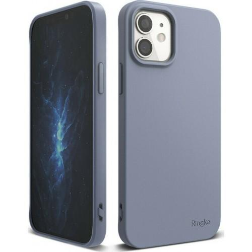 Ringke Air S Ultra-Thin TPU Back Cover Σιλικόνης Lavender Grey (iPhone 12 mini)