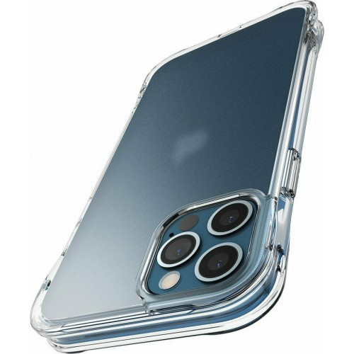 Ringke Fusion Plus Back Cover Σιλικόνης Matte Clear (iPhone 12 / 12 Pro)