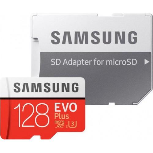 Samsung Evo Plus microSDXC 128GB U3 with Adapter