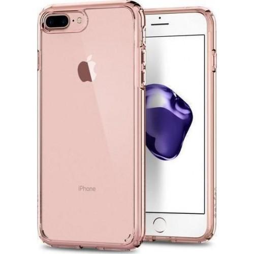 Spigen Ultra Hybrid 2 Back Cover Σιλικόνης Rose Crystal (iPhone SE 2020/8/7)