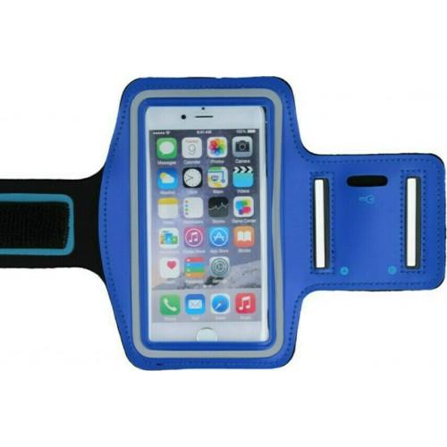 Sport Case Θήκη Universal Μπράτσου για Smartphone 6-6.3'' Μπλε